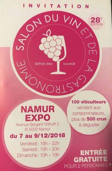 Salon du vin et de la gastronomie Namur