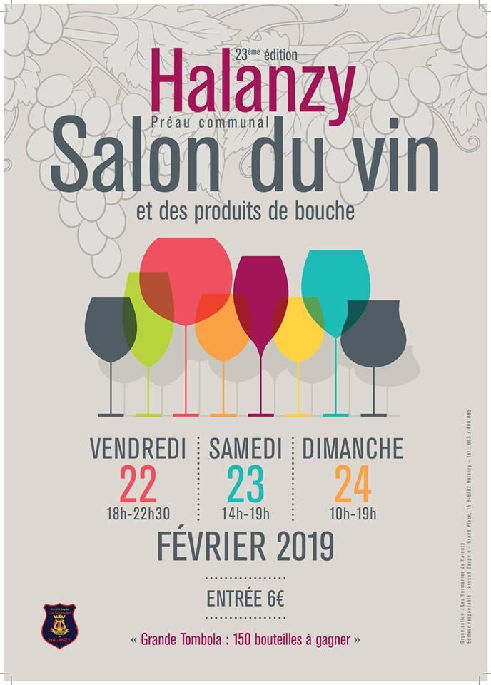 Salon du vin à Halanzy