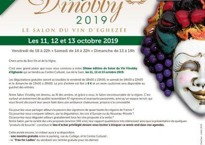Salon du vin Vinobby d'Eghezée