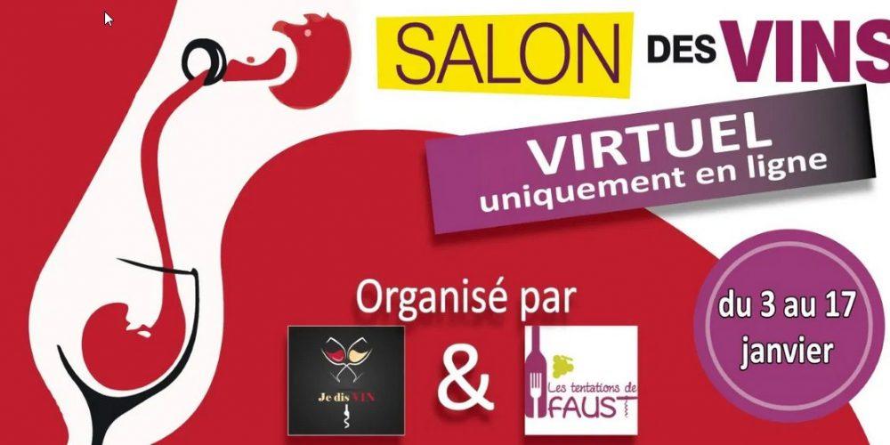Je dis Vin – Salon des vins virtuel du 3 au 17 janvier 2021