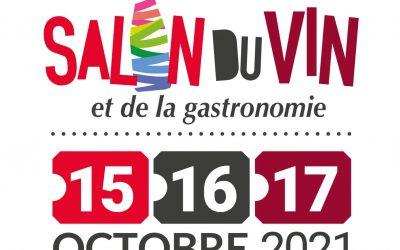 Salon du vin et de la gastronomie – 15, 16 et 17 octobre 2021